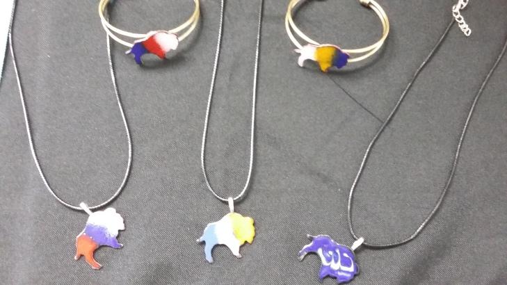 Buffalo sports team jewelry