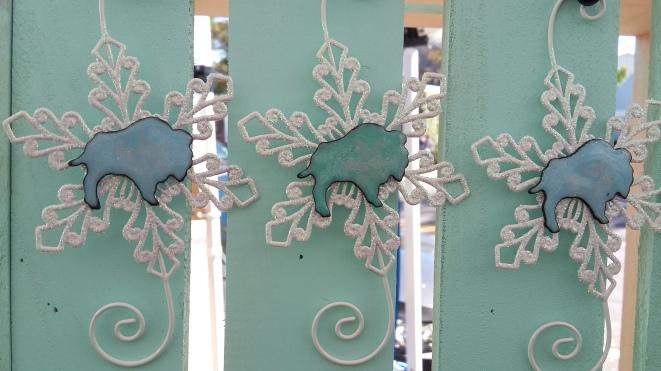 Buffalo Ornaments