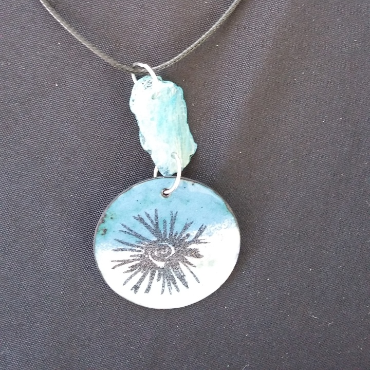 SOLD - Blue Agate