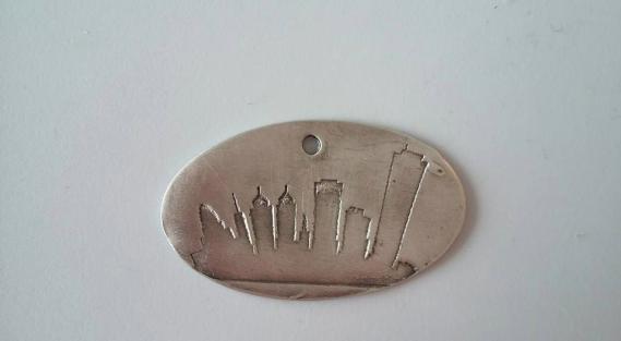 Silver - Buffalo skyline